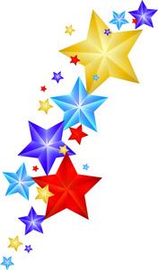 176x300 Free Stars Clip Art Image