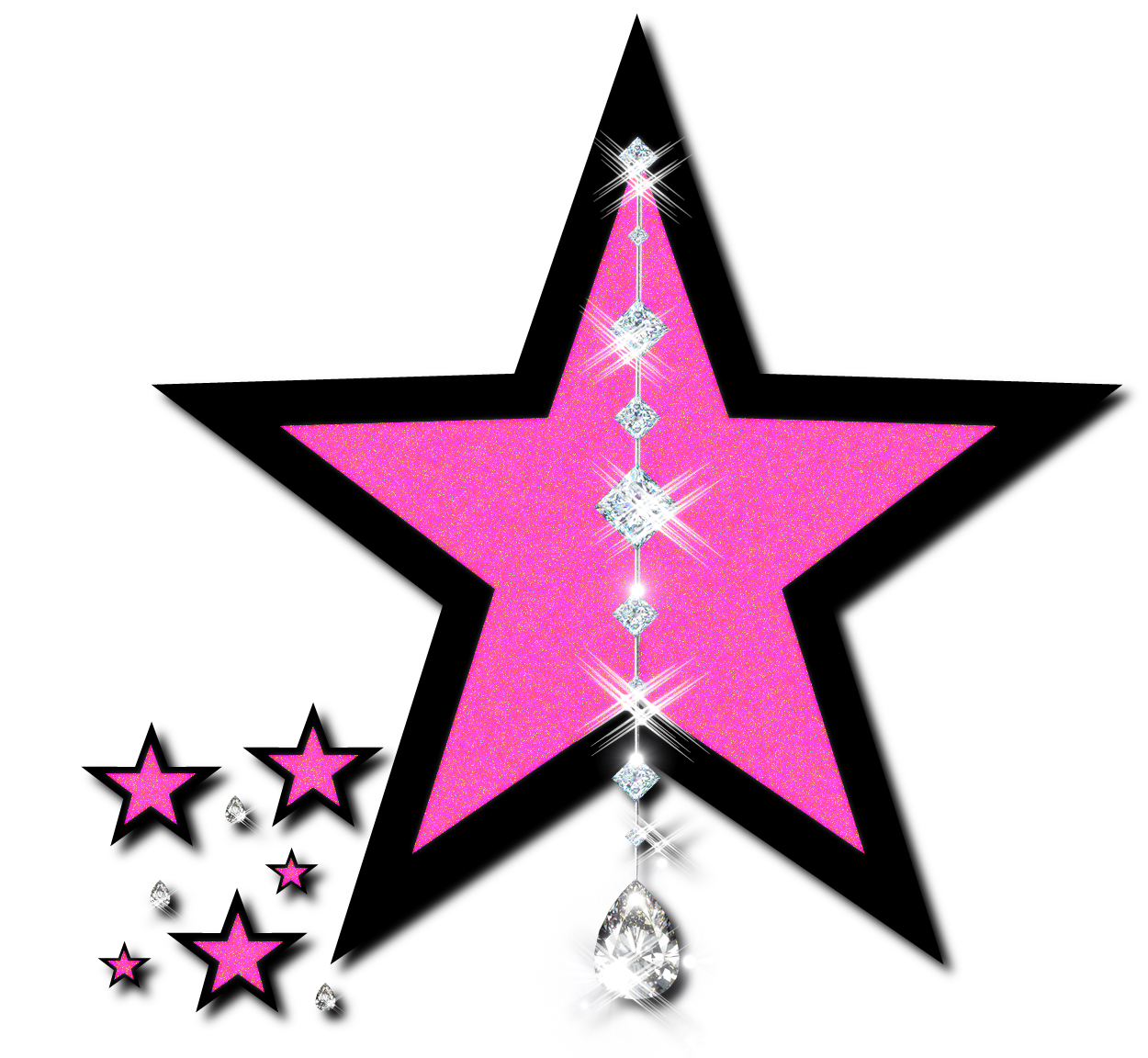 1250x1152 Falling Stars clipart all star