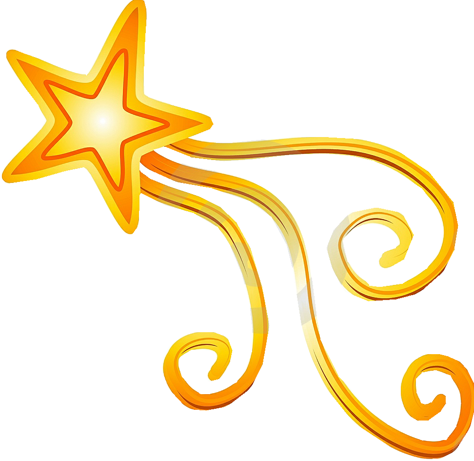 972x945 Shooting Star Clip Art