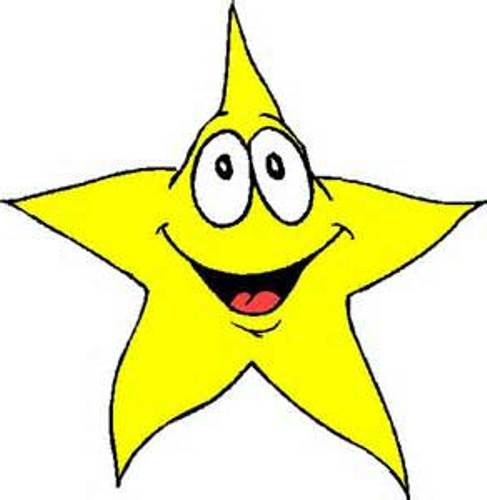 487x500 Star Clipart Craft Projects, Symbols Clipart