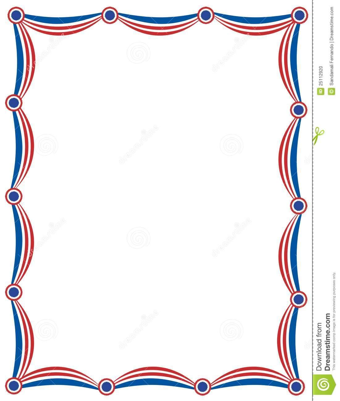 1101x1300 Patriotic Star Border Clip Art Clipart Panda