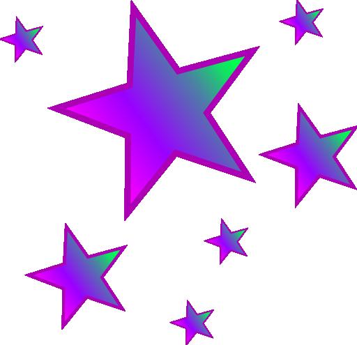 512x495 Stars Clipart Free Download