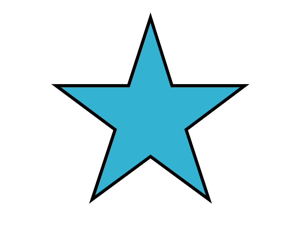 1200x900 Free Clipart Stars