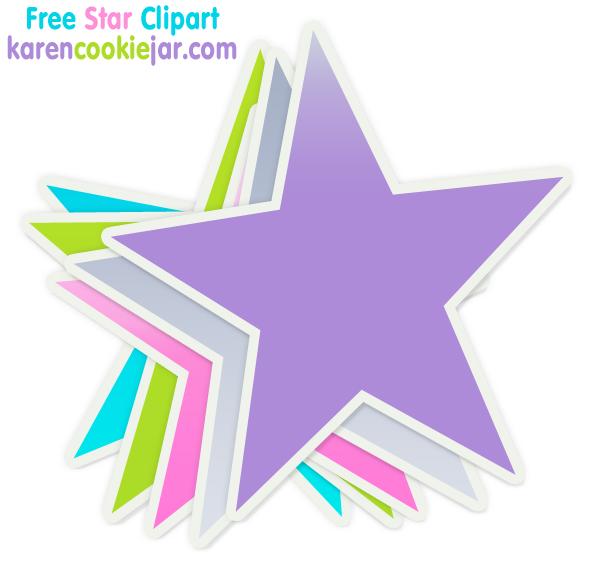 596x579 Free Star Clipart