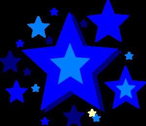 300x258 Free clip art of stars