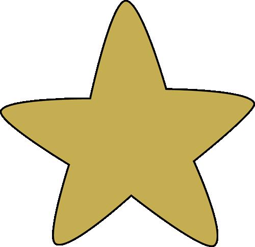 500x486 Gold stars clipart