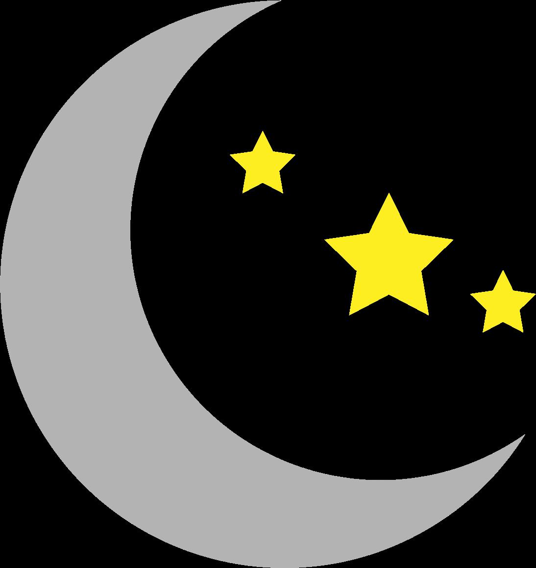1094x1160 Stars clipart moon