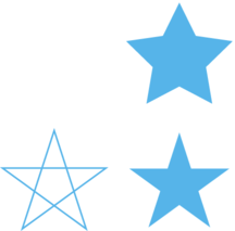 216x213 Diplograph — Drawing a Regular Star in Illustrator