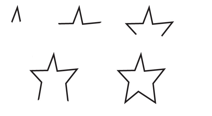 700x383 Drawing star