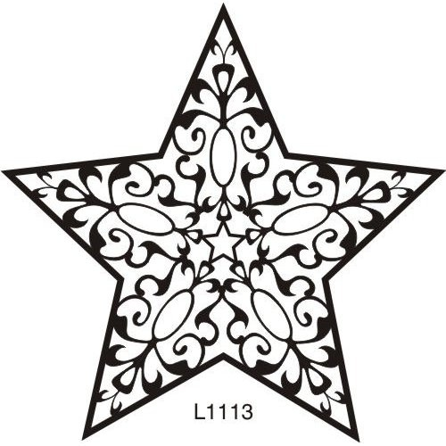 500x500 Fancy Stars Clipart (14+)