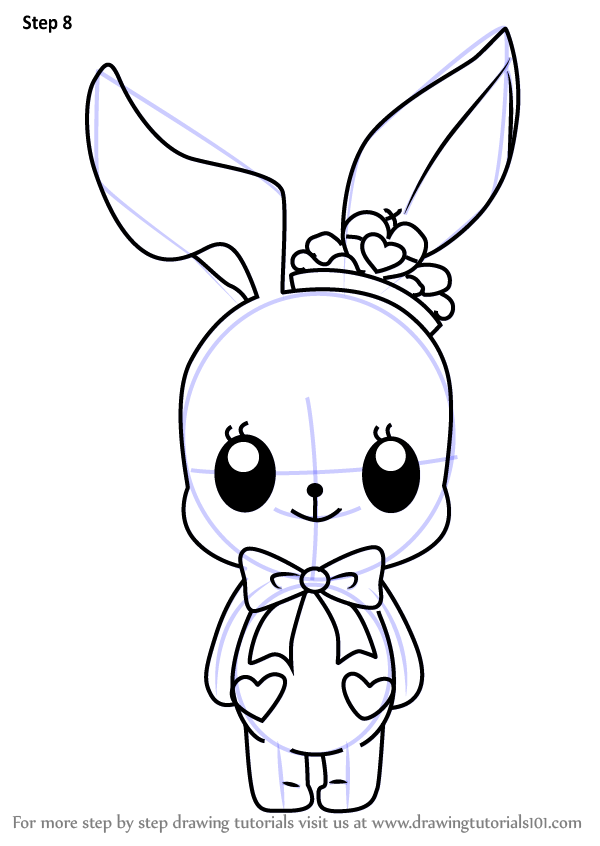 600x846 Learn How to Draw Little Bunny from Aikatsu Stars! (Aikatsu Stars