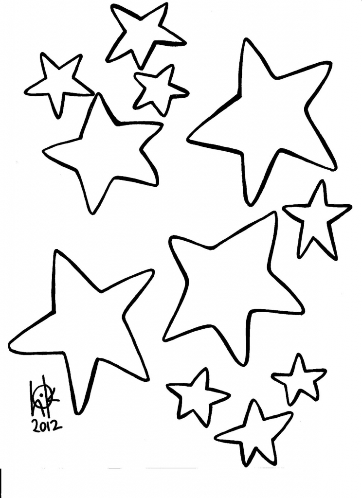 744x1024 Line Drawing Of A Star Stars Drawing Outline Viewing Gallery