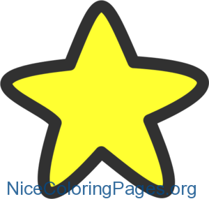 300x285 Stars clipart Nice Coloring Pages for Kids