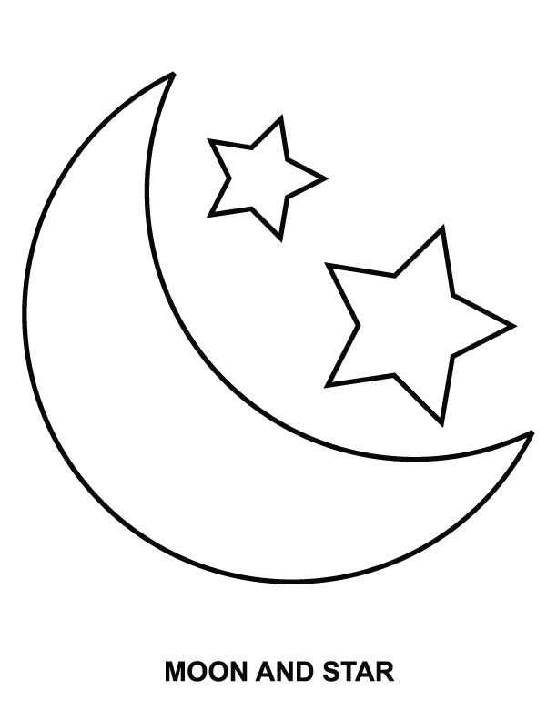 612x792 Top 10 Moon Star Drawings