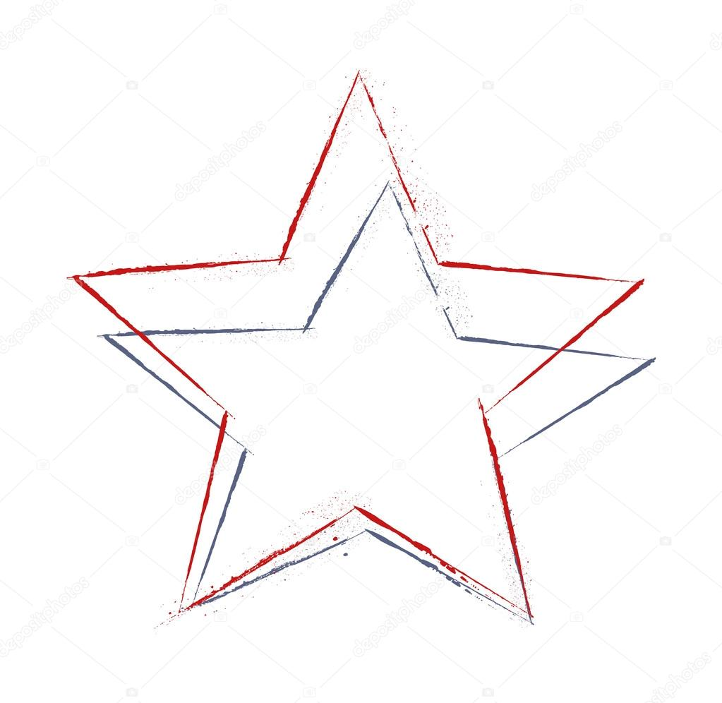 1023x996 Vintage Stars Drawing — Stock Vector © baavli