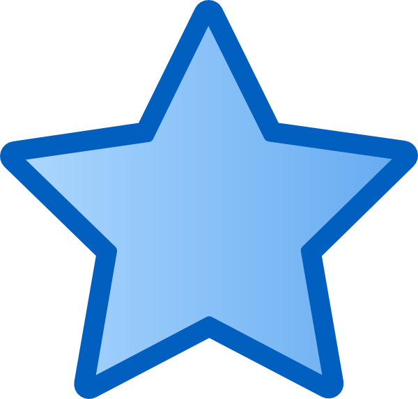 600x573 Rounded Star Clipart