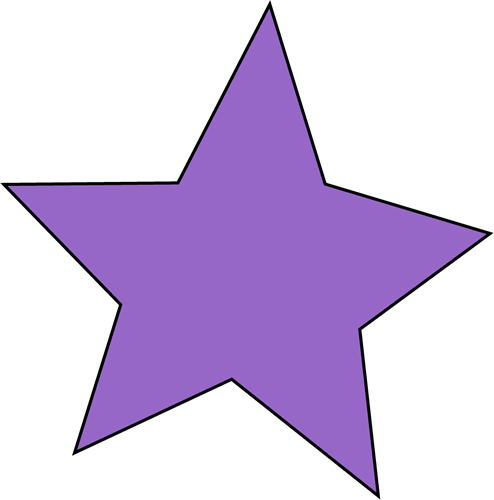 494x500 Star Outline Clipart Free Images