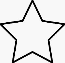 229x220 Star Silhouette Outline Clip Art Yellow Star October 2011