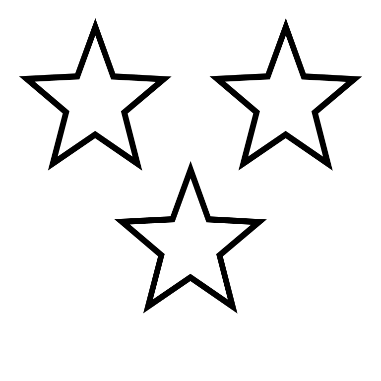 768x768 Filewhite Stars 3.svg