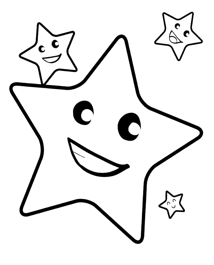 700x867 Star Drawing
