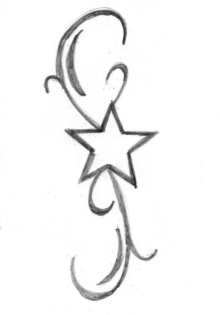 736x1053 Beautiful Star Tattoos And Meaningful Ideas