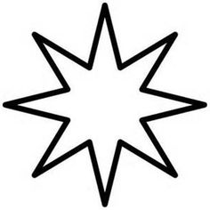 236x236 8 Point Star Stencil My House Star Stencil