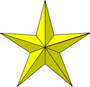 298x288 Military Clipart Gold Star