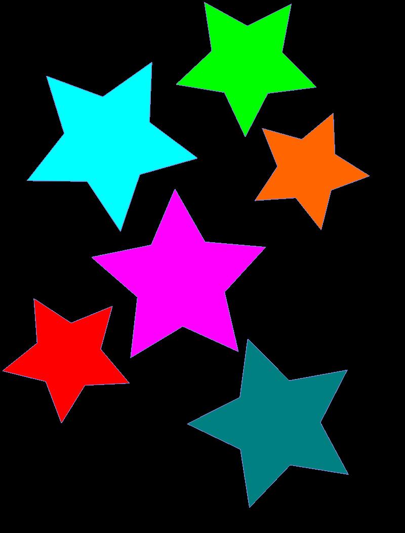 800x1052 Stars Clipart Free