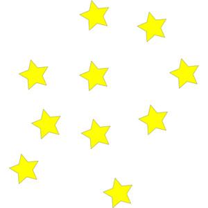 300x300 Stars Clipart