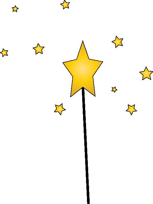 512x682 Wand Magic Stars Clipart Kid