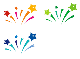 280x208 Shooting Star Clipart Coloured Star
