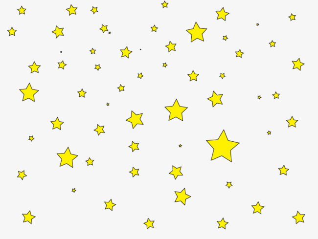 650x489 Twinkling Star, Starry Curtain, Flat Design Png Image For Free