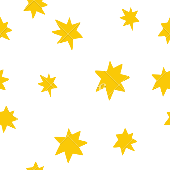 550x550 Cute Stars In The Sky Background Pattern