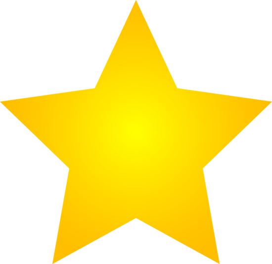 550x534 Shining Star Clipart With No Background