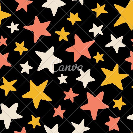 550x550 Stars Background