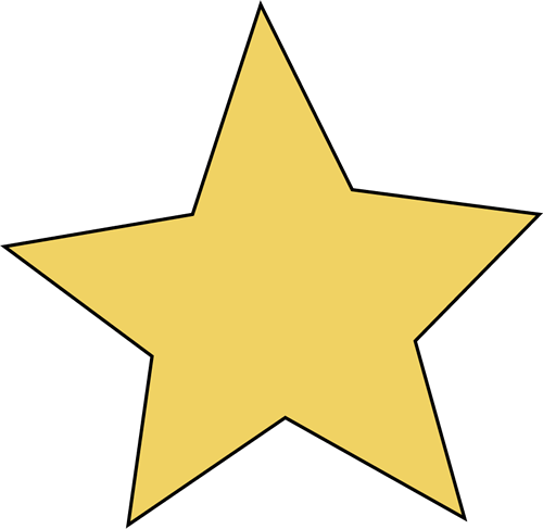 500x487 Stars Clipart Transparent Background