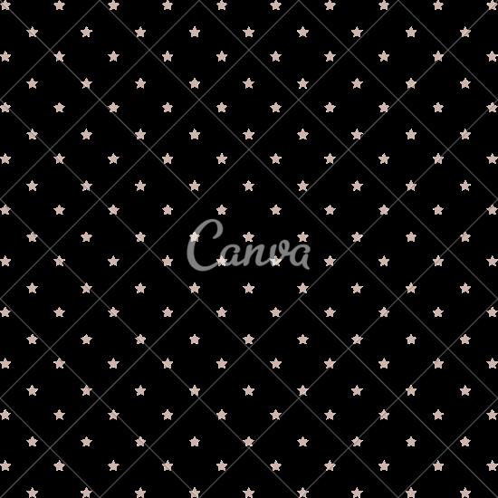 550x550 Stars Pattern Background
