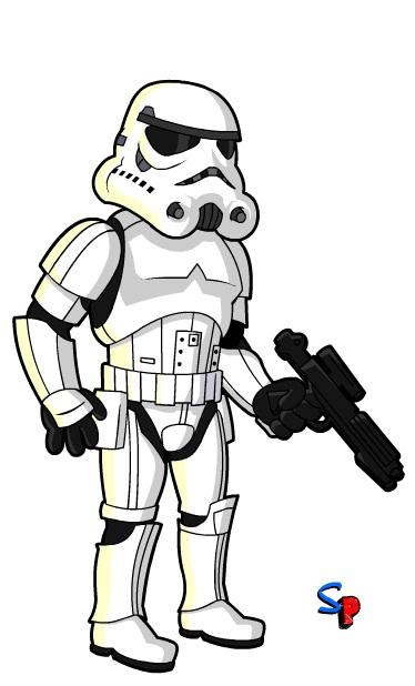 374x618 Star Wars Stormtrooper Clipart