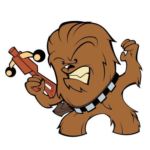 500x500 Star Wars Clipart Chewie