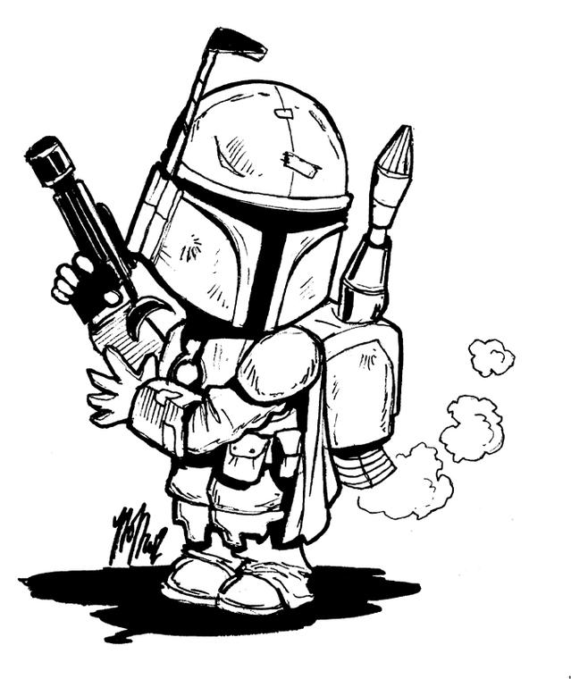 639x760 Star Wars Clipart Line Art