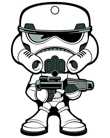 360x450 Stormtrooper Clipart Face