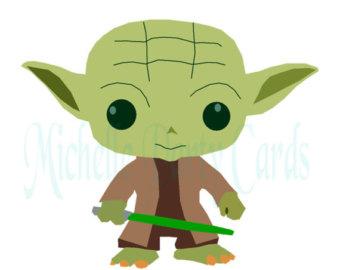 340x270 Yoda Star Wars Clipart Illustration Quilt Blocks