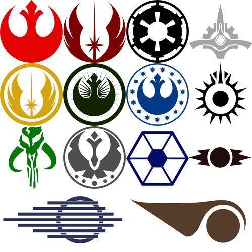 500x500 Best Logo Star Wars Ideas Logos De La Guerra De