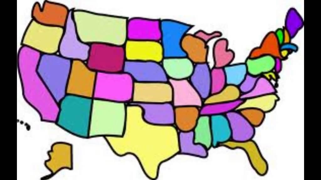 1024x576 Top 48 United States Clip Art