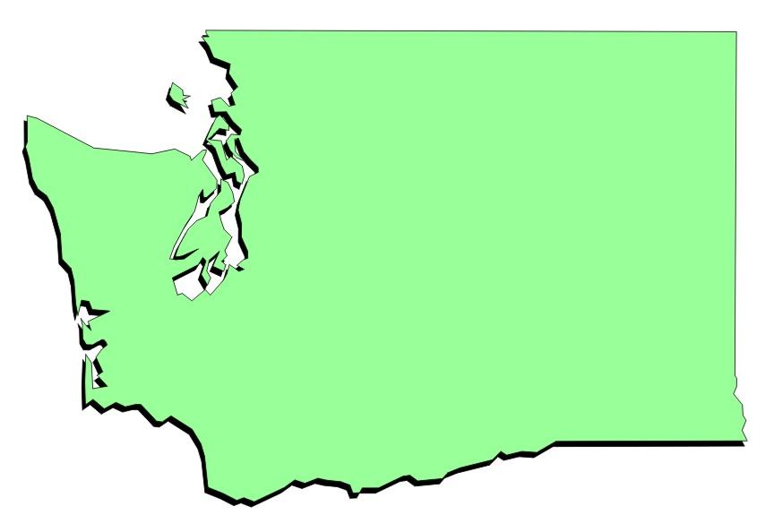 864x594 Washington Clipart Washington The State Clipart