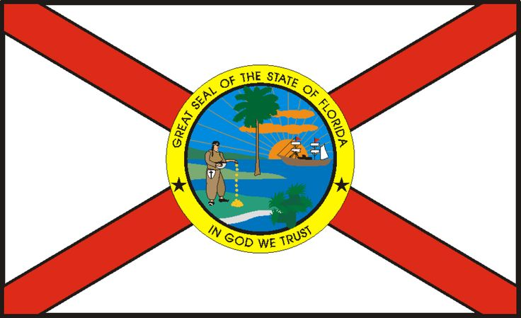 736x449 Florida's Flag Flags