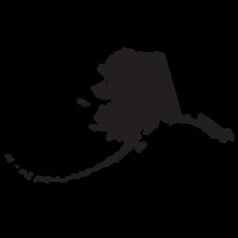 480x480 Alaska State Clip Art