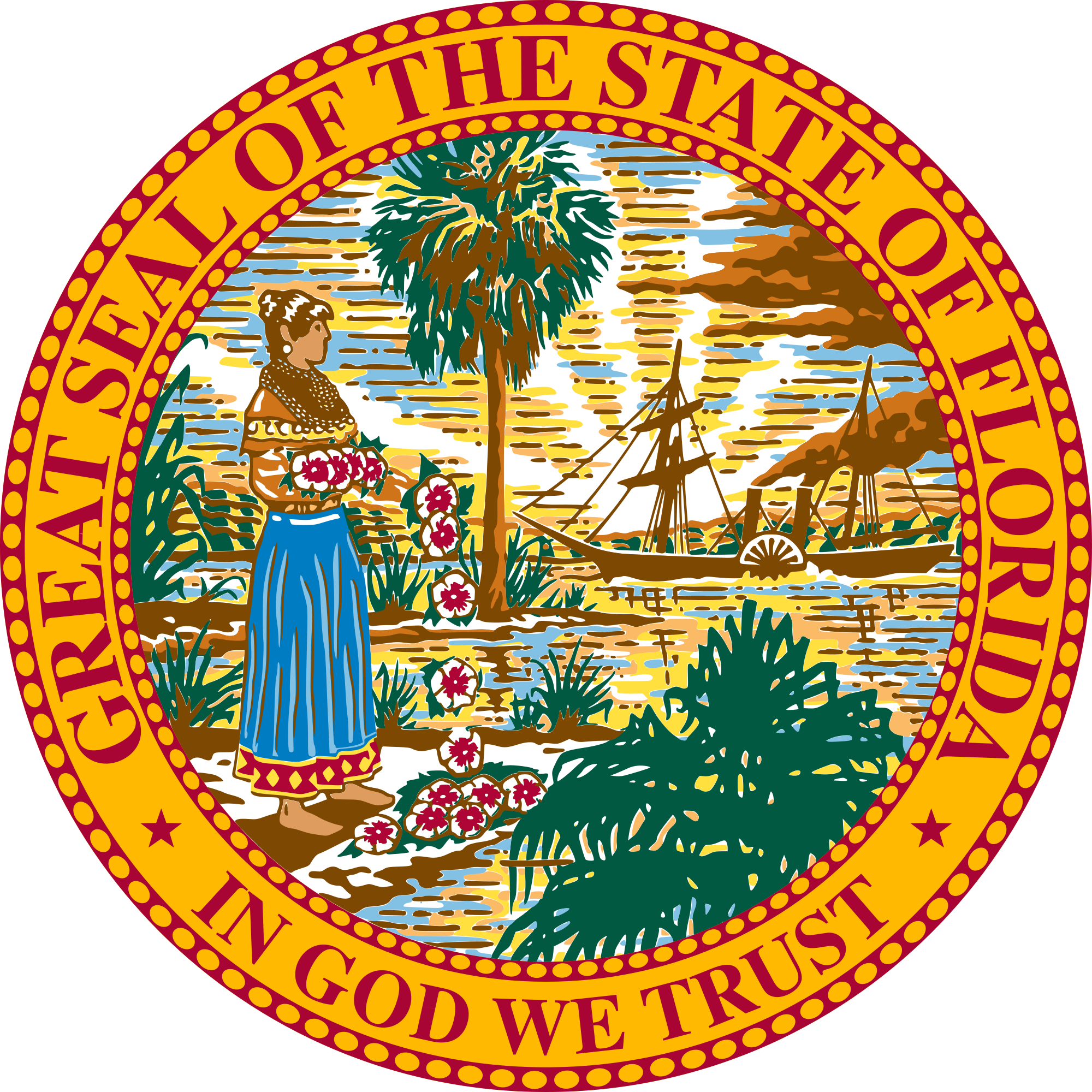 2000x2000 Fileseal Of Florida.svg