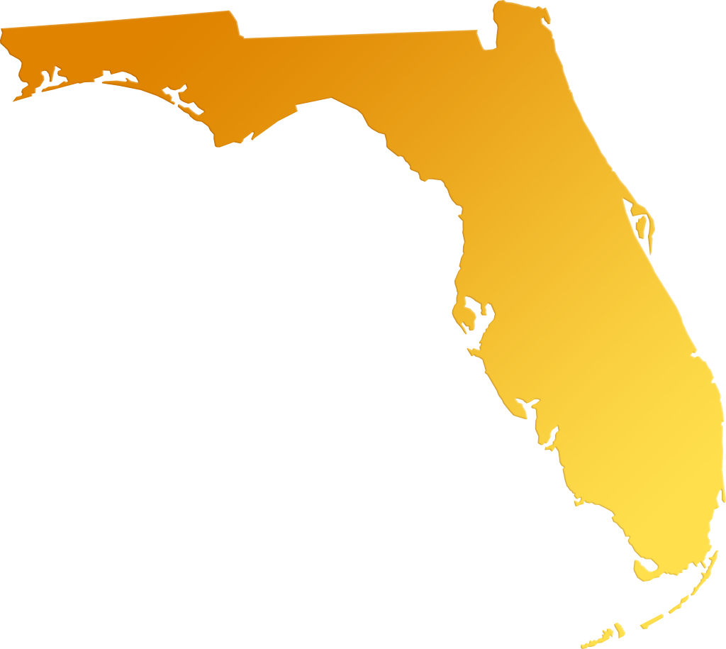 1024x915 Florida Abstract Style Maps