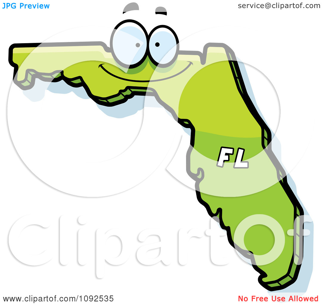 1080x1024 State Of Florida Clipart
